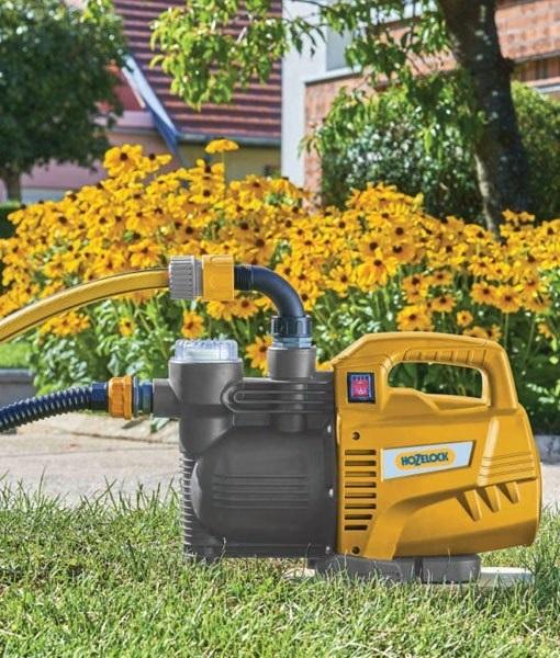 Pretočna črpalka za vrt