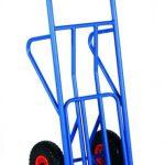 Industrijski transportni voziček za enostavno prevažanje tovora